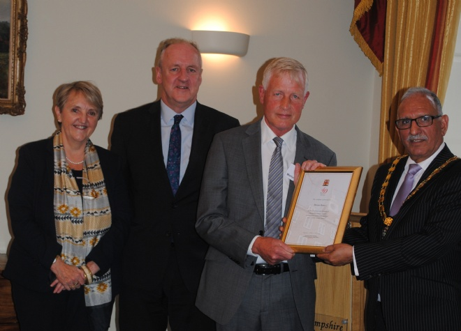 40 Year Service to Hampshire